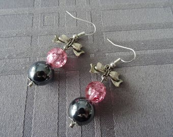 So Romantic, choice of color earrings