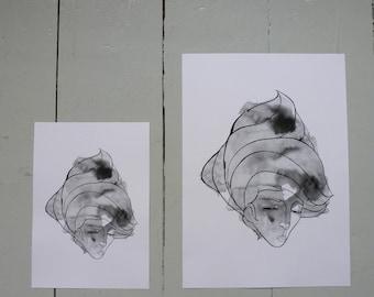 Windswept A5 Print