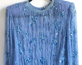 Vintage 80's Sequin Shirt