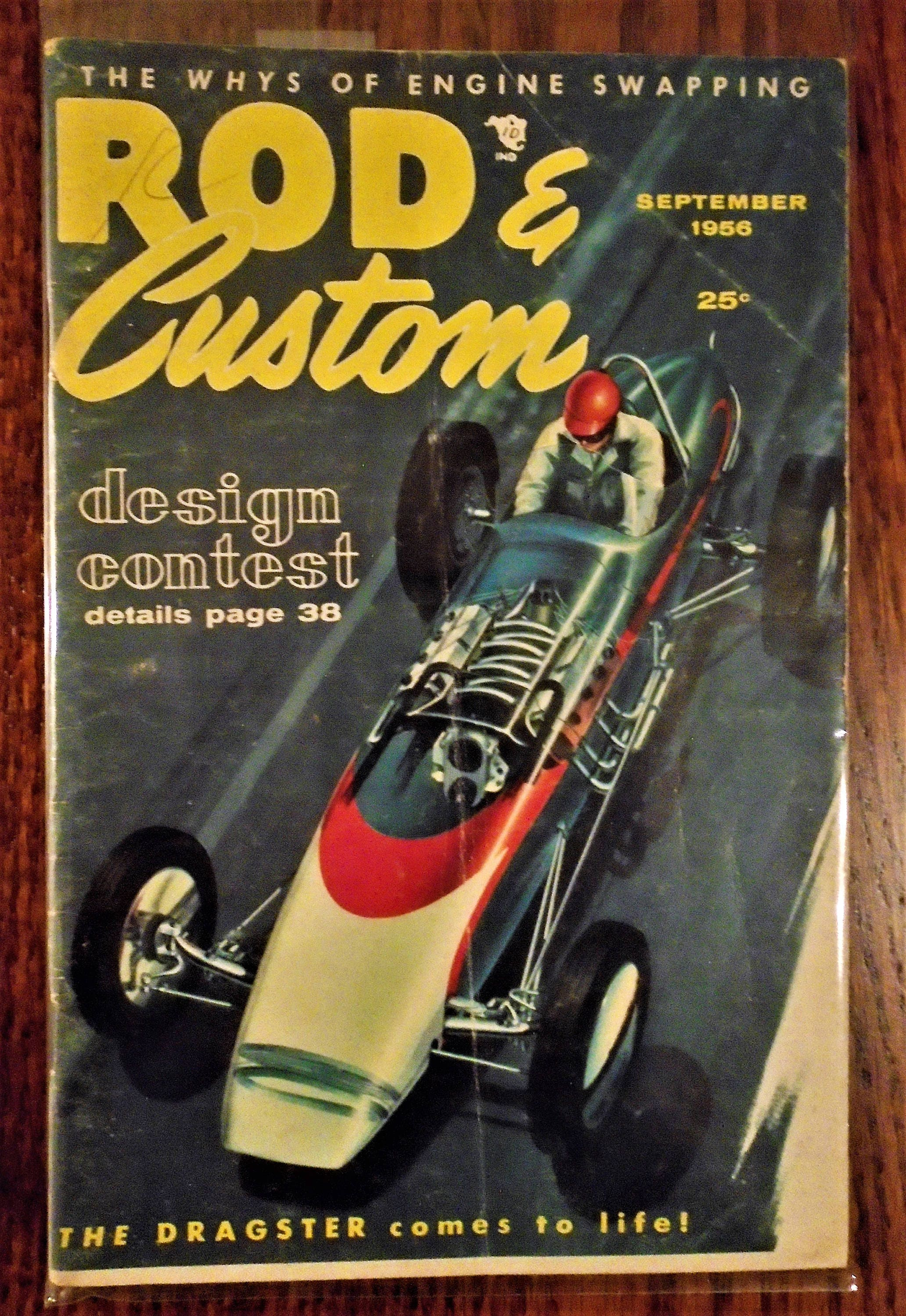 ROD & CUSTOM MAGAZINES...September 1956 And July 1957...Little