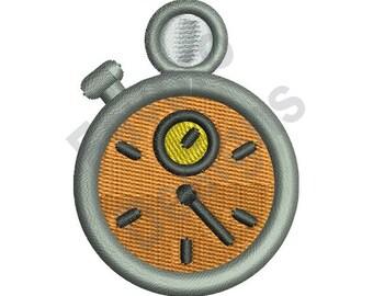 Pocket Watch - Machine Embroidery Design