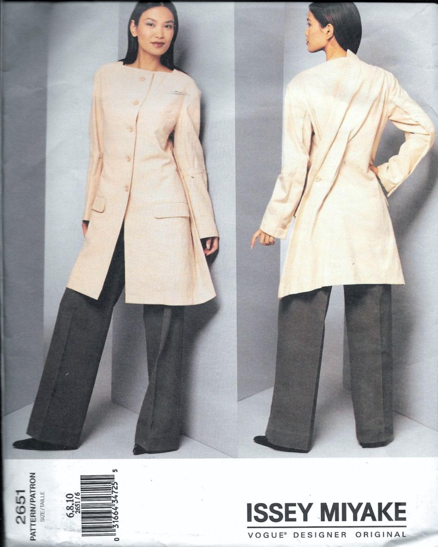 Vogue 2651 Issey Miyake Designer Original Jacket & Pants Sewing ...