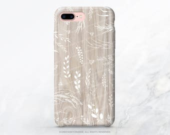 iPhone 8 Case iPhone X Case iPhone 7 Case Wood Floral iPhone 7 Plus Case iPhone SE Case Tough Samsung S8 Plus Case Galaxy S8 Case I212