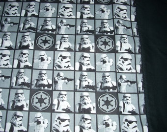 Star Wars Pillowcase Storm Troopers with black trim - Fits Standard and Queen size pillows