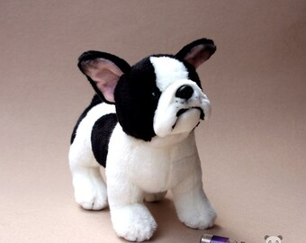 Bulldog Stuffed Animal Plush Toy