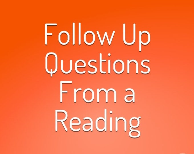 Follow Up Questions From a Previous Reading 15-45 Min MP3
