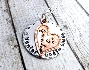 Mothers day necklace-mothers day keychain-personalized necklace-grandma necklace-mom key chain- mom necklace-nana necklace-grandchildren