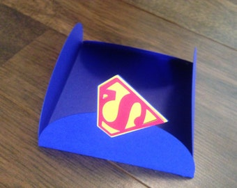 Superman Inspired Party Invitations (12)