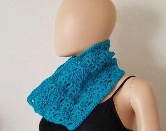 Falling Fans Cowl Crochet Pattern *PDF FILE ONLY* Instant Download