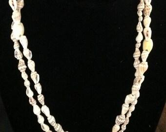 Vintage collier coquillage artisanal