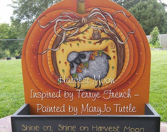 Harvest Moon - Painted by Maryjo Tuttle, Painting With Friends E Pattern