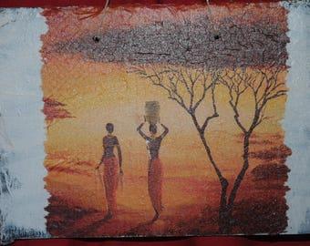 Slate theme table: African