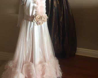 Long dress, party dress , kids dress ,