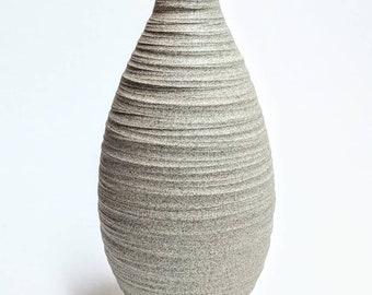 Carved Granite Seed Vase