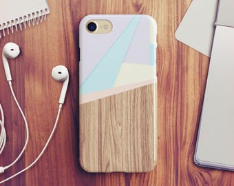 Wood Geometric iPhone 7 Case Geometric iPhone 8 Case iPhone X Case iPhone 6s Case iPhone 5s Case iPhone SE Case iPhone 8 Plus Case A24