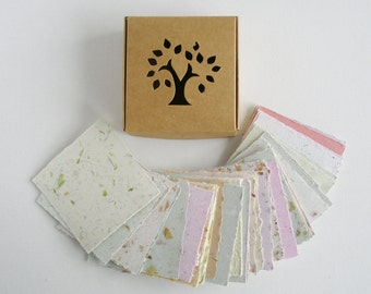 RESERVED  - Handmade recycled paper
