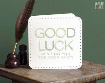 Good Luck Card / New job card / Good luck friend / Good luck exams / Exam card / Encouragement Card / MT28
