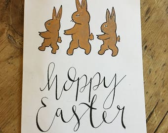 Pack of five Easter cards