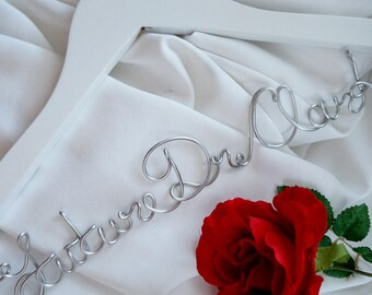 First White Coat Ceremony  Hanger Personalized With Last Name