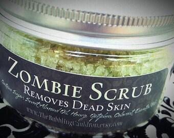 Zombie Scrub ® - Removes Dead Skin - Exfoliating Sugar Scrub