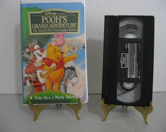 Walt Disney - Pooh's Grand Adventure - Circa 1997 - VHS