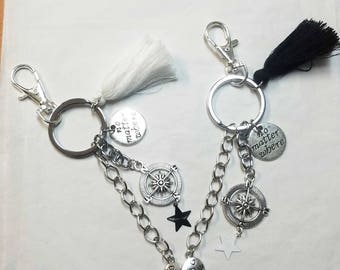 keychain or bag best friends charm