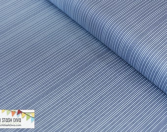 Blue Stripes From Riley Blake's Parade On Main Collection