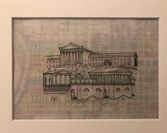 Philadelphia Museum of Art and Fairmount Water Works