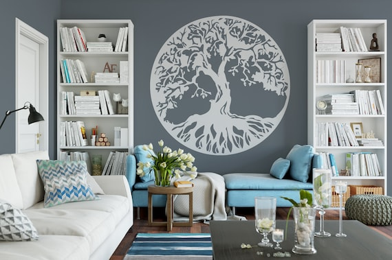 Amazing Tree Of Life Wall Decor Room Decor Vinyl Wall Mural Decal