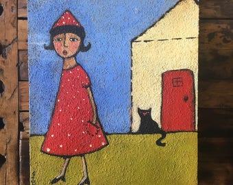 Original Artwork by Danita - House Cat