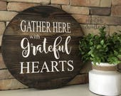 Gather Here With Grateful...