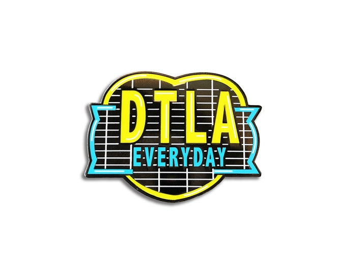 DTLA Everyday Pin