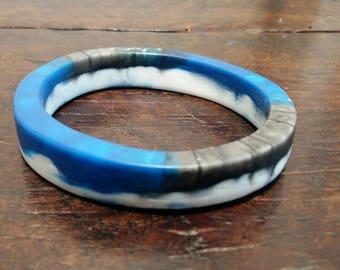 Bracelet -INTO THE WILD- blue