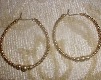 14k Gold-filled  Hoop Earrings