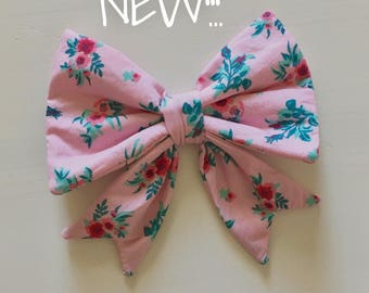 Girl bow - choose your favorite pattern!