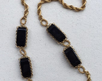 Miriam Haskell Necklace Russian Gold