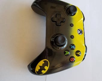 Xbox One S Controller -Custom Painted -Batman