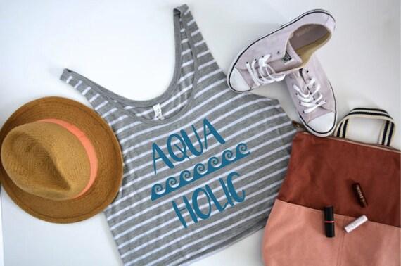 Aquaholic Ocean Flowy Boxy Tank