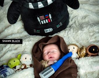 Newborn Jedi Robe, Star Wars, Baby, Receiving Blanket