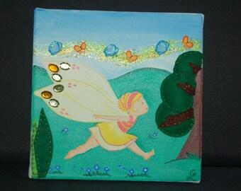 Small fairy summer table
