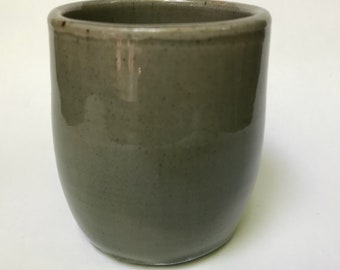 Green Celadon Stoneware Cup