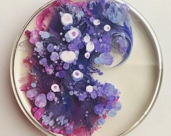 Set of 6 Original Handmade Coasters
