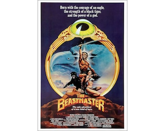 The Beastmaster Movie Poster Print - 1983 - Sci-Fi - Fantasy - 1 Sheet Artwork