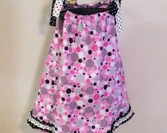 Minnie in Pink Girl's Sundress