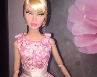 Fresh Floral Dress for Poppy Parker