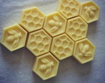 Handmade Beeswax Lotion Bars