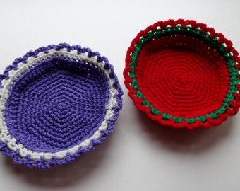 Simple Small Basket Crochet Pattern