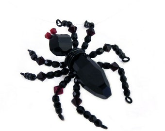 Spider On Your Neck-lace - Halloween Illusion Spider Necklace