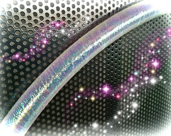 "Textured Pearl Opal Polypro or HDPE 3/4"" 5/8"" Performance Dance & Exercise Hula Hoop - color changing"