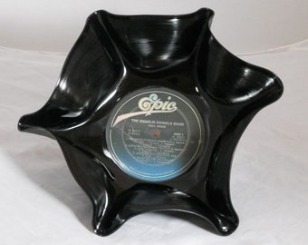 """Charlie Daniels Band """"Full Moon"""" Recycled Record Bowl"""